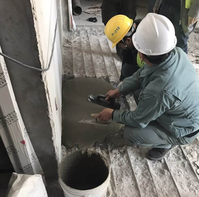 聚合物修补砂浆施工图