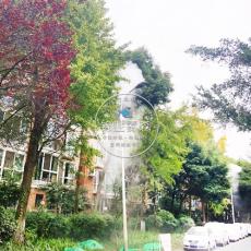 城市街道—灯杆喷雾除尘