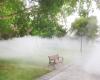 人工造雾设备的优越性和经济效益