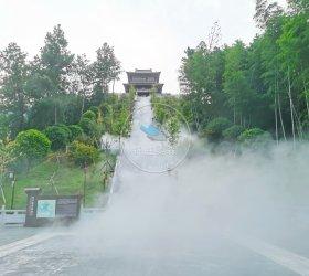 江西九江市修水县黄庭坚故居喷雾造景项目