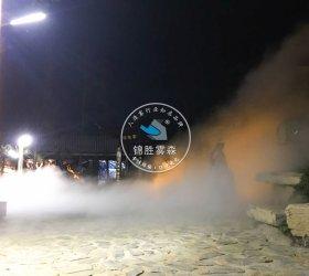 湖北荆州园博园喷雾造景项目