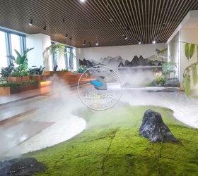江苏南京江宁区名家科技大厦室内造景项目
