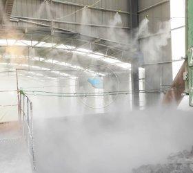 湖北黄石大冶灰石厂高压水雾除尘项目