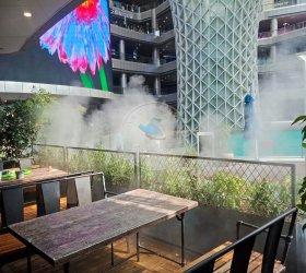 上海闵行区浦东新区胡桃里水雾造景项目