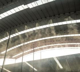 中国交建广西高速搅拌站造雾降尘工程项目