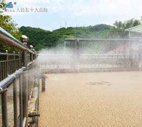 重庆黑石子垃圾处理站喷雾除臭项目