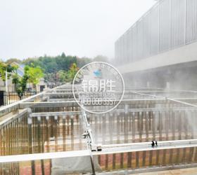 湖北武汉警犬基地喷雾降温项目