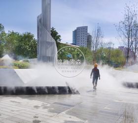 新疆乌鲁木齐隆瑞地产.中南上悦城景观喷雾