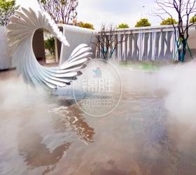 湖北武汉美的雅居售楼部喷雾景观项目项目