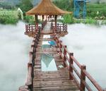 四川绵阳童话小镇喷雾造景