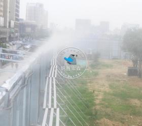 山西运城周家坡工地围挡除尘项目