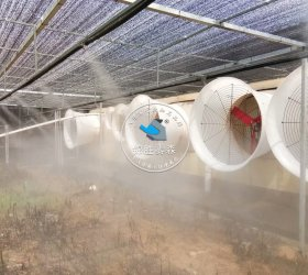 湖北随州中粮集团猪场喷雾除臭消毒项目