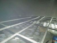 脱硫塔出口除雾器液滴含量测试过程