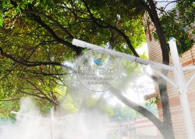 车辆道路—灯杆喷雾除尘