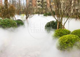 住宅小区—生态冷雾降温