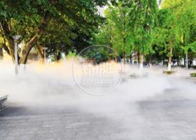 公园广场—休闲冷雾降温