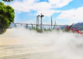 广场公园—市政环保水雾造景