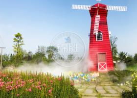 游乐景区—休闲欢乐水雾造景