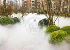 售楼小区—高端唯美水雾造景