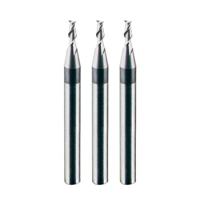 不锈钢专用二刃平头铣刀