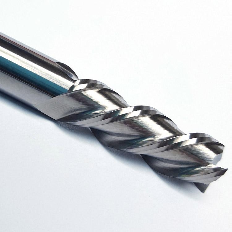 铝用左旋右切铣刀