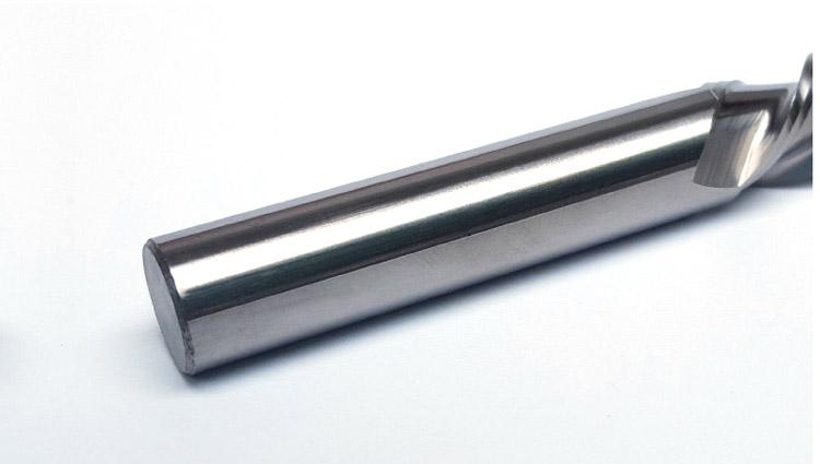铝用左旋左切铣刀