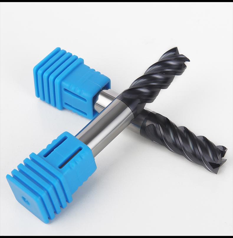 加长刃钨钢平头铣刀