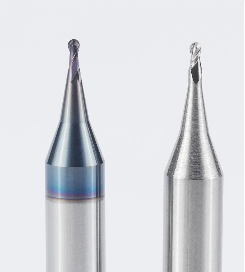 不锈钢专用微小径球头铣刀