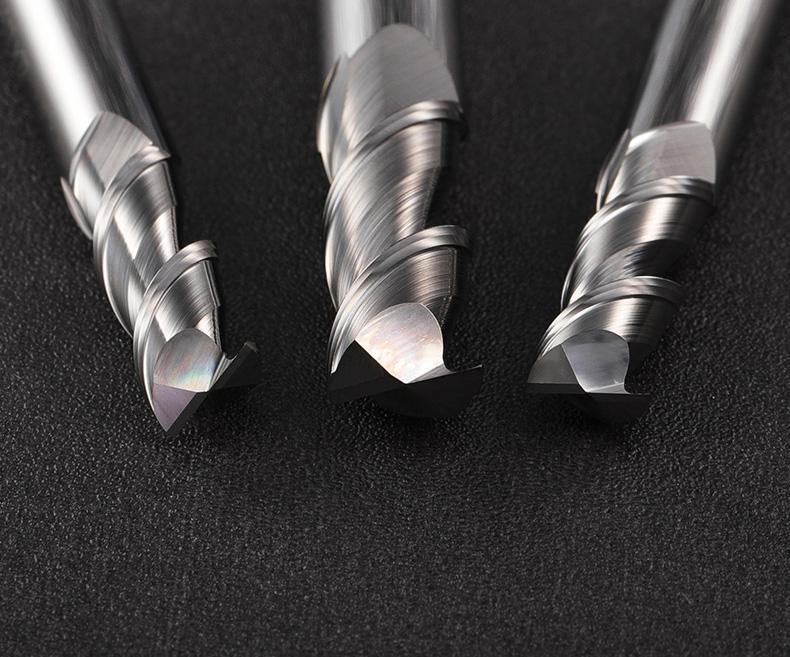 铝用2刃平头铣刀