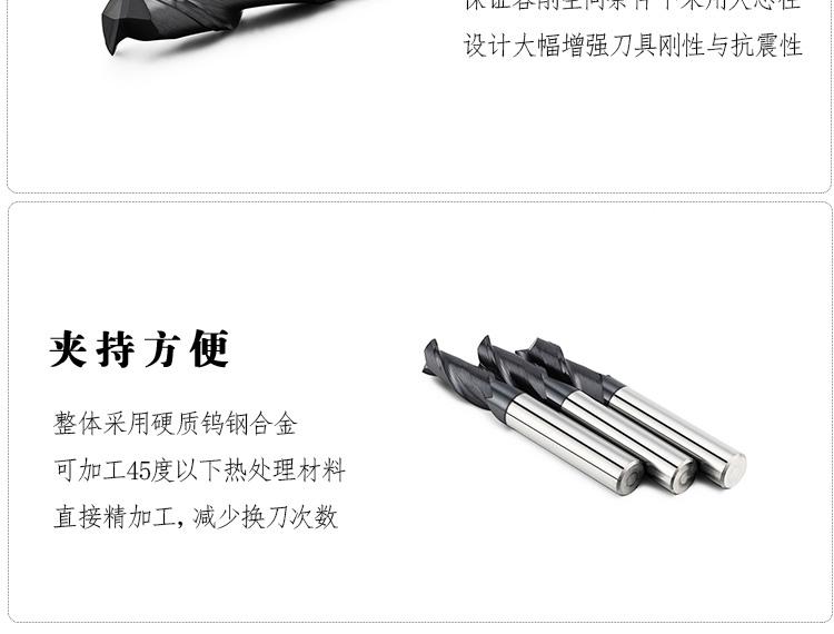 钢用2刃平铣刀
