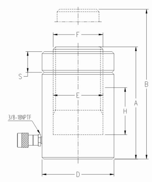 CLL係列自鎖型液壓千斤頂