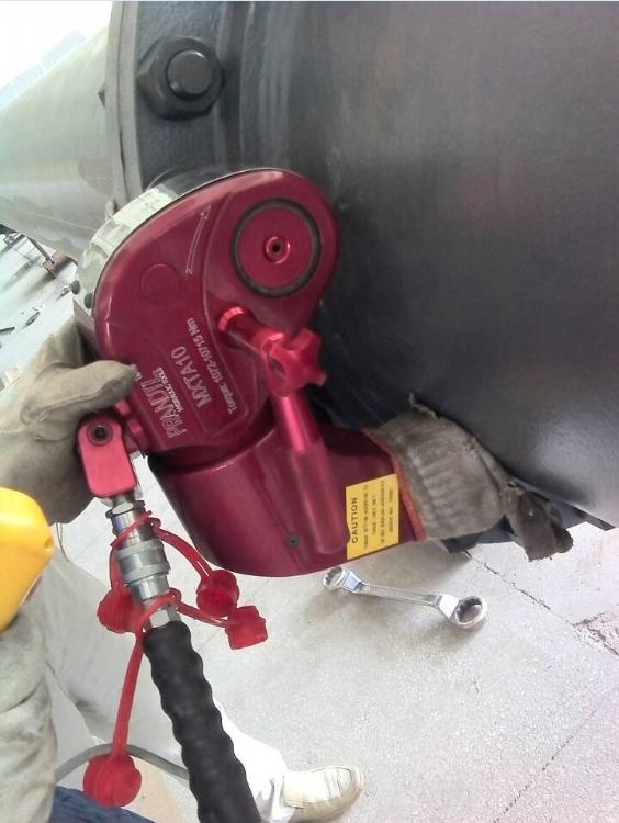 压力容器行业液压扳手