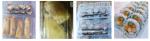 透明普通壽司,燒賣,八爪魚丸,食物膠盒(連蓋)