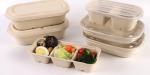 紙漿秸杆環保餐盒