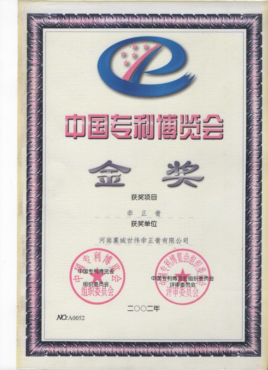 世伟牵正膏中国专利博览会金奖.jpg