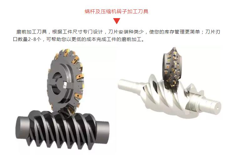蝸桿及壓縮機轉子加工刀具