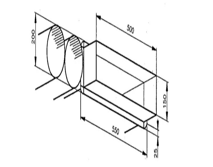 風管連接方案比較 (A)矩形風管 (B)圓形風管