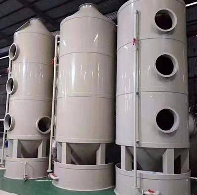 环保设备工程PP喷淋塔