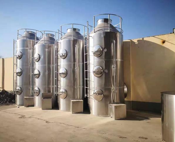 不銹鋼噴淋塔環保設備
