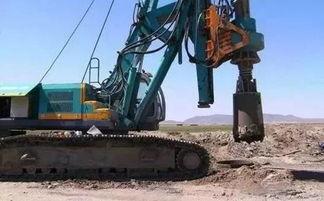 旋挖钻机培训机构,旋挖钻机钻杆的使用保养