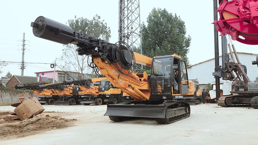 旋挖钻机灌注桩安全教育,旋挖桩出现坍孔或桩身偏斜怎么办