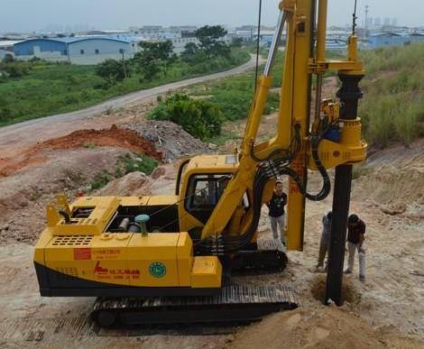 旋挖钻机培训基地,旋挖钻机怎么扩桩