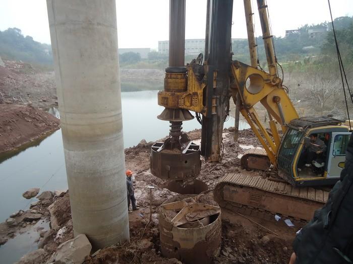 旋挖钻机教育公司,根据桩直径桩深度判断用什么型号旋挖钻机