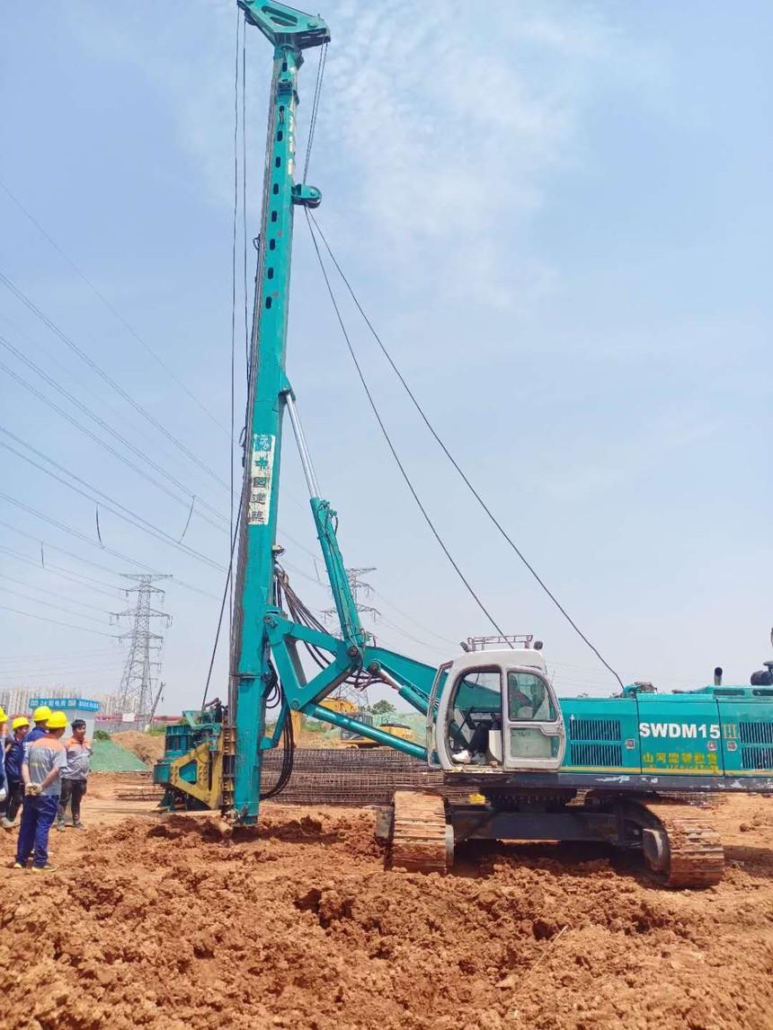 重庆中天旋挖钻机培训基地,旋挖钻机型号的含义
