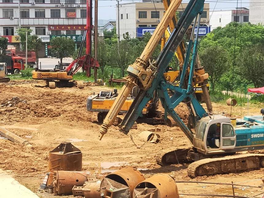旋挖钻机学徒哪家好,对用入岩旋挖钻机施工提出的几点建议