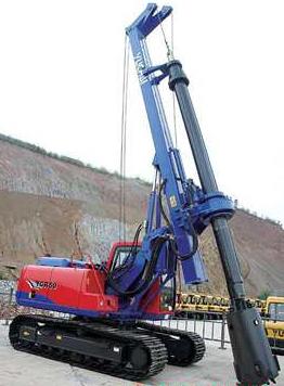 旋挖钻机学校哪家好,玉柴YCR50旋挖钻机随动架与高速甩土原理