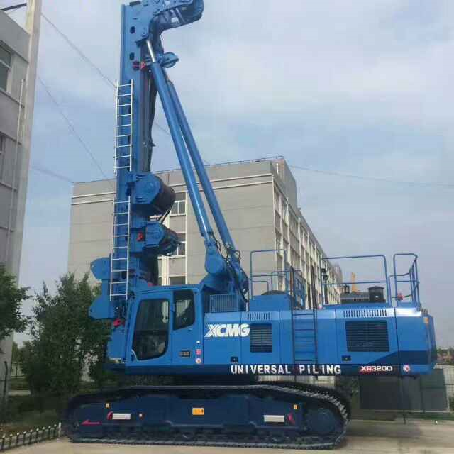 贵港旋挖钻机培训机构,旋挖钻机动力头主要功能介绍