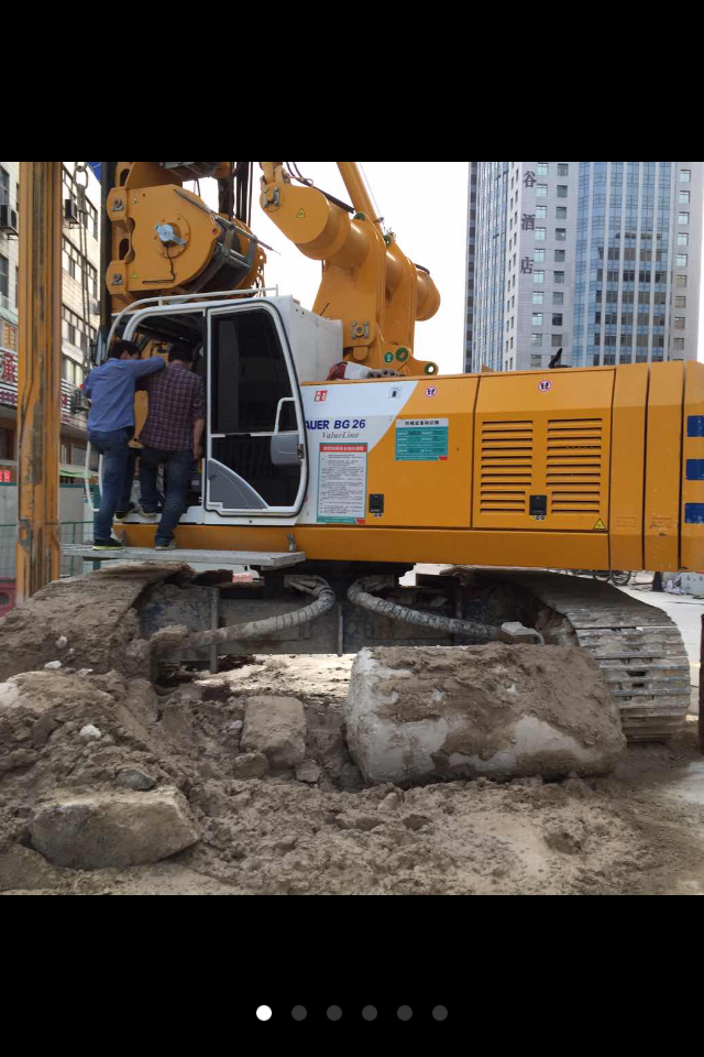 旋挖钻机培训基地,旋挖钻机能扩桩吗