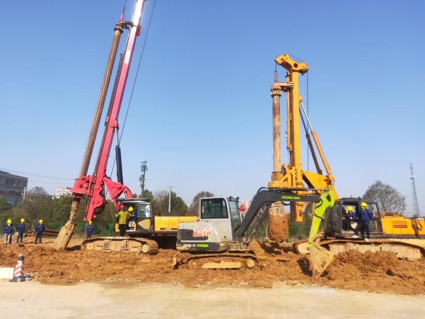 怎么学习开旋挖机,旋挖钻机施工时解决坍塌