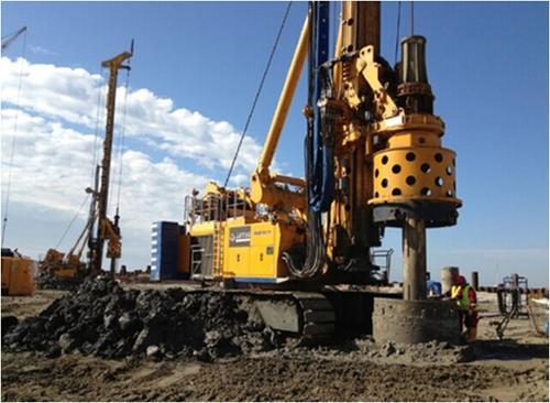 重庆靖工旋挖机培训学校,旋挖桩施工塌孔如何补救再次成孔